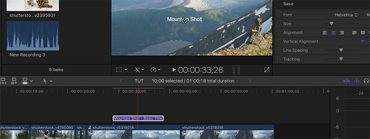 Video Editing Quick Tip: Creating Placeholder Titles — FCPX