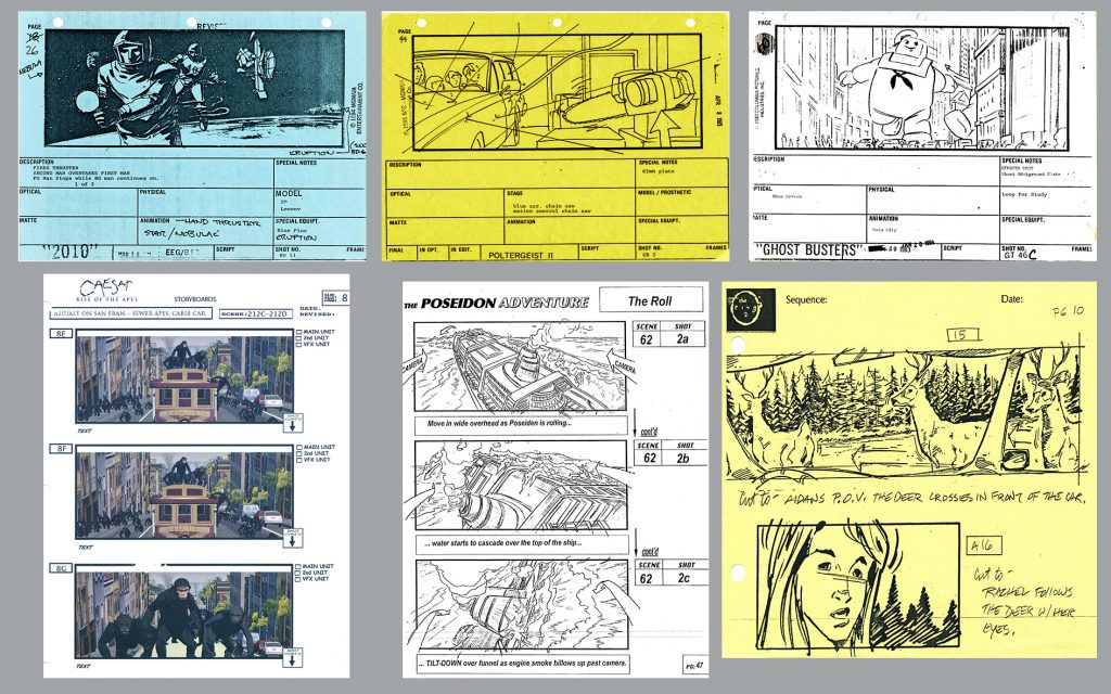 The Unifying Power of Storyboards — Collage