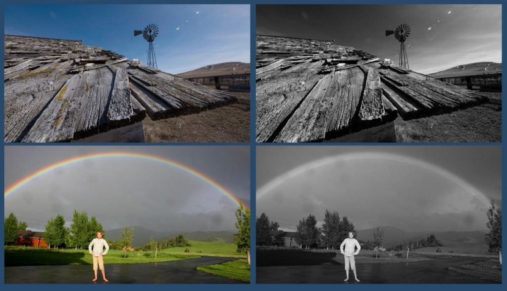 Color, Black and White, or Hyperreal? — Color vs. Black and White