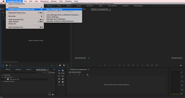 How to Set or Recall Preference Settings in Adobe Premiere Pro — 7