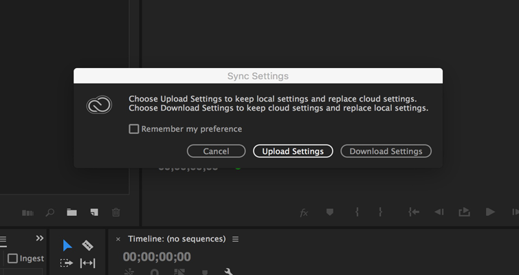 How to Set or Recall Preference Settings in Adobe Premiere Pro — 4