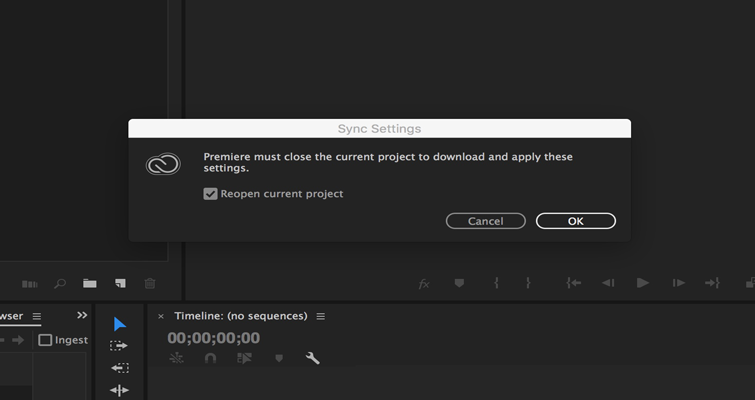 How to Set or Recall Preference Settings in Adobe Premiere Pro — 6