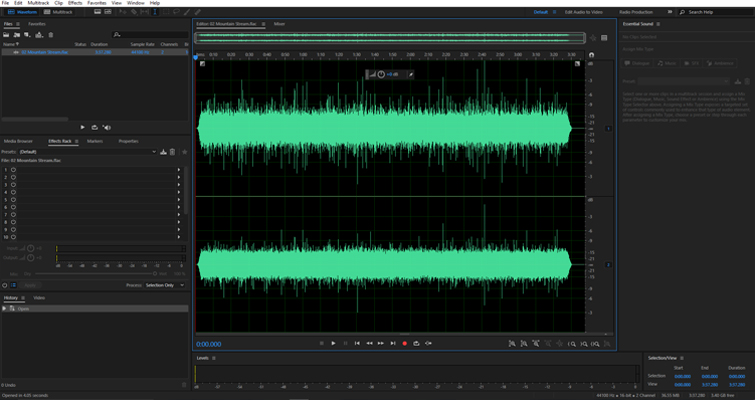 Quickly Send FLAC Files From Audition To Premiere Pro — Import