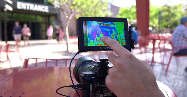 NAB 2017: SmallHD's New Touchscreen Monitor — Touch Screen