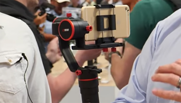 NAB 2017: The Future of iPhone Gimbals with FeiyuTech — S1000