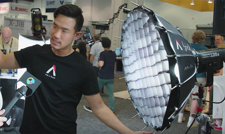 NAB 2017: Aputure's New 300D LED Light — Mini Dome