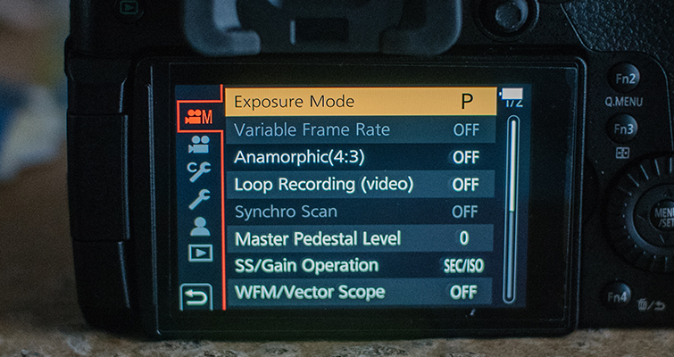 Best Video Settings for the GH5 — Manual Exposure
