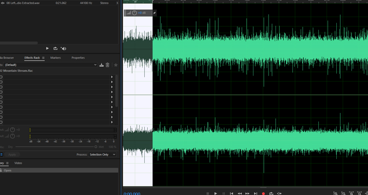 Quickly Send FLAC Files From Audition To Premiere Pro — Paste Segment