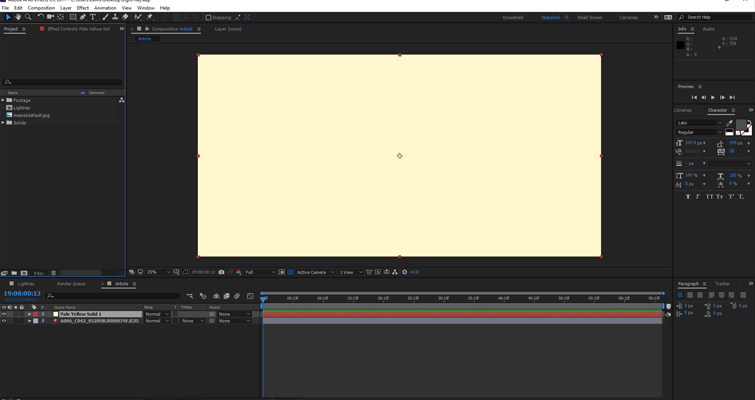 Add Volumetric Lighting in After Effects Without a 3rd-Party Plugin — Color Solid