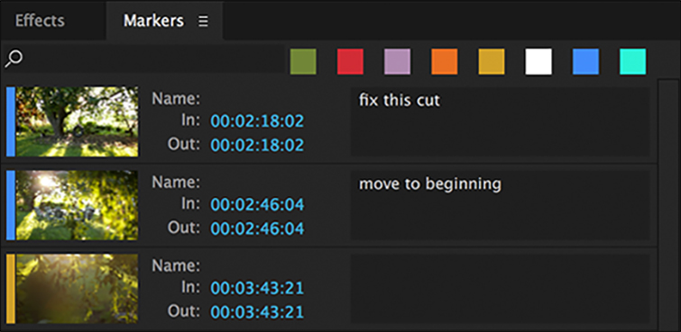 Premiere Pro Tutorial: Organizing Your Project with Markers — Notes