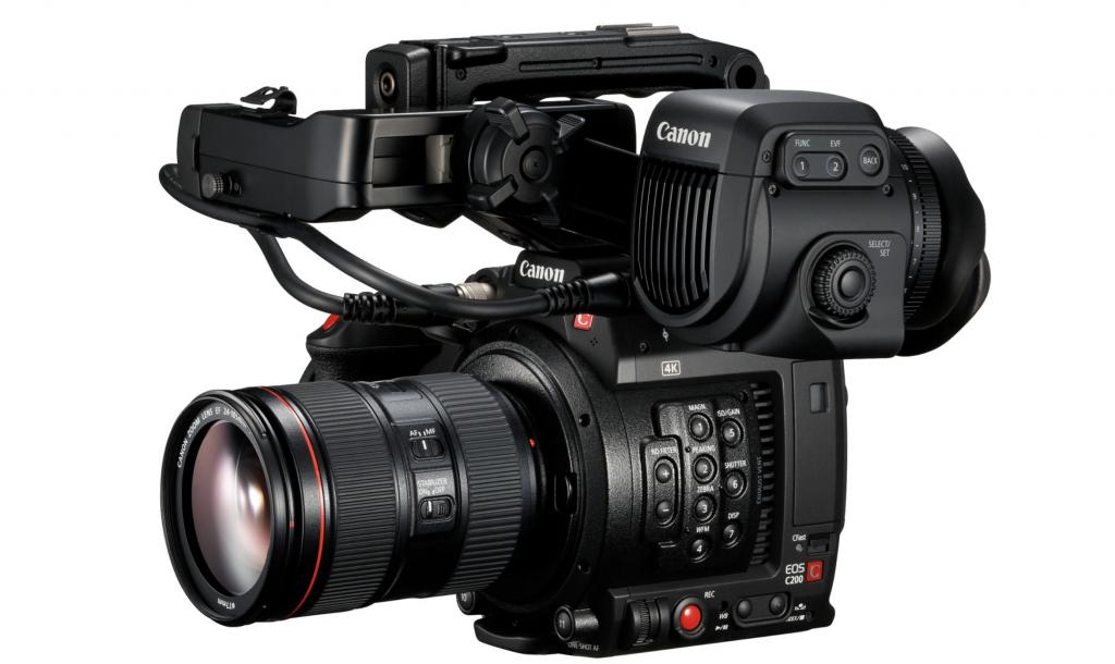 The New Canon C200 — 3