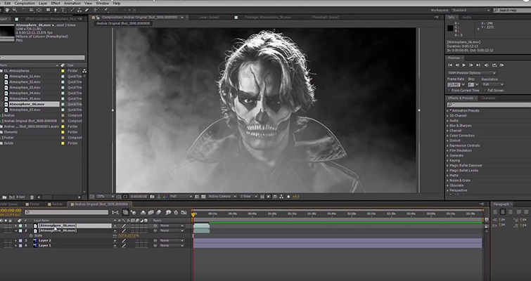 Create Your Own Movie Posters Quickly and Cheaply — Adding Fog