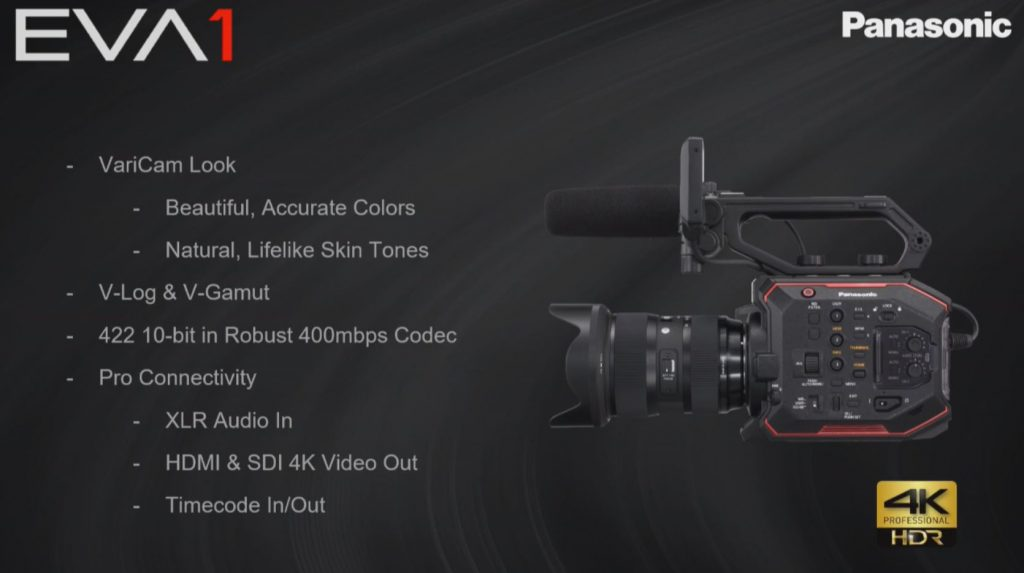 Panasonic's Newest Camera: the AU-EVA1 —3