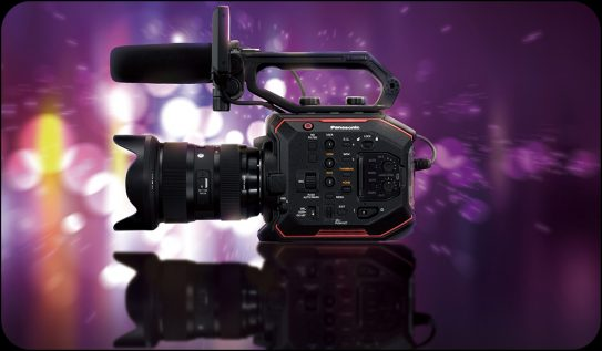 Panasonic's Newest Camera: the AU-EVA1