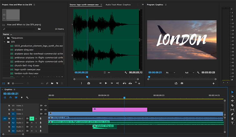 Creative Ways to Use Sound Effects + 15 FREE SFX — Logos and Graphics