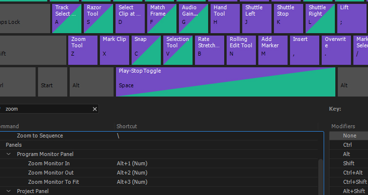 Why You Should Create These 5 Keyboard Shortcuts in Premiere Pro — Monitor Zoom Function