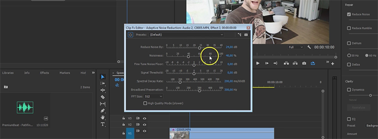 Improve Voice Recordings in Premiere Pro — Essential Sound Panel