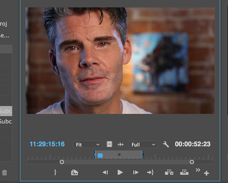 Organize Your Interviews Using Subclips in Premiere Pro — Select Sound Bites