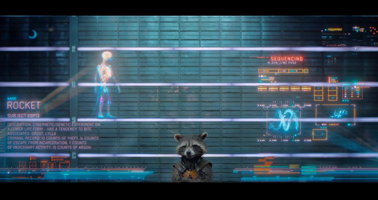Stylize Your Storytelling with Character Title Cards — Guardians of the Galaxy