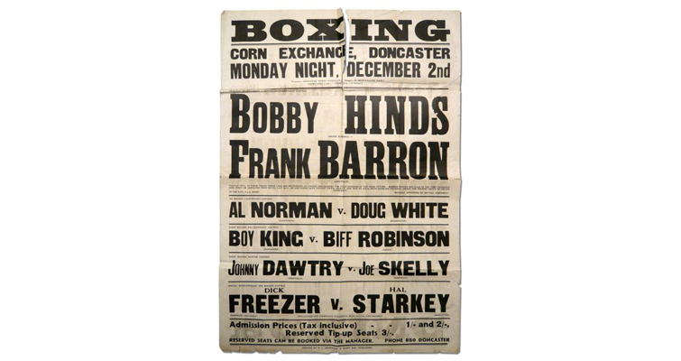 Stylize Your Storytelling with Character Title Cards — Boxing Poster