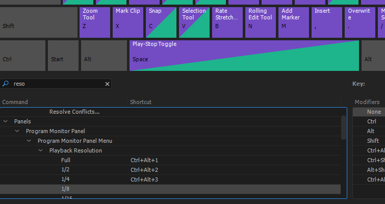 Why You Should Create These 5 Keyboard Shortcuts in Premiere Pro — Resolution Shortcut