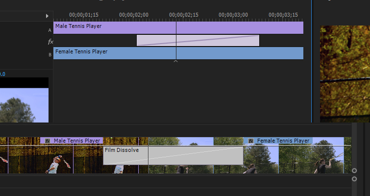 Take Control Of Your Transitions with The Effects Panel — Extend Transition