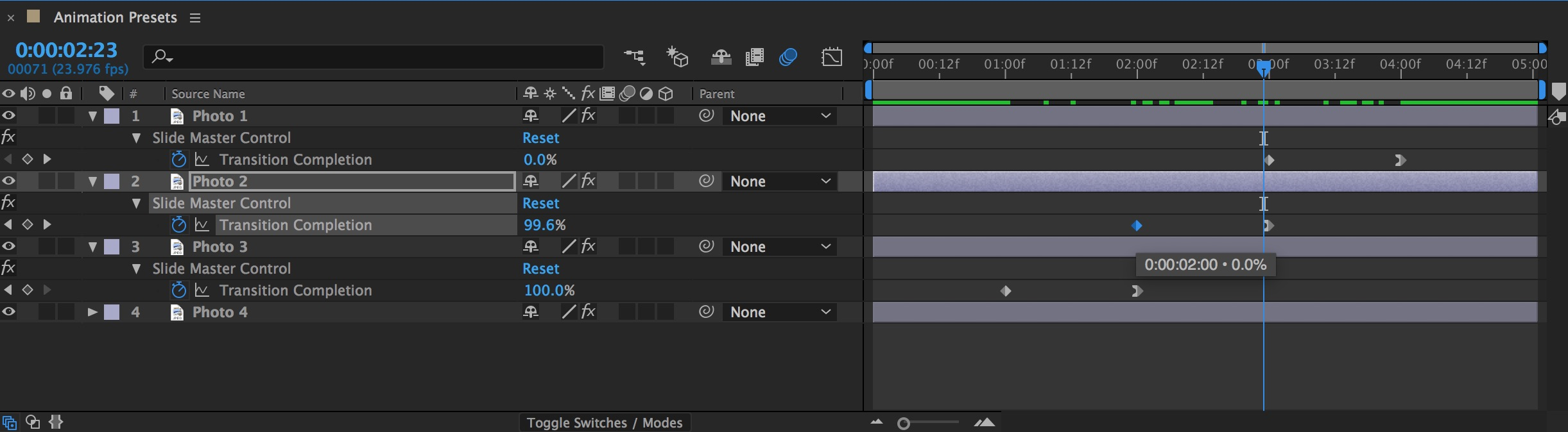 How to Apply Animation Presets in Adobe After Effects — Fine Tuning
