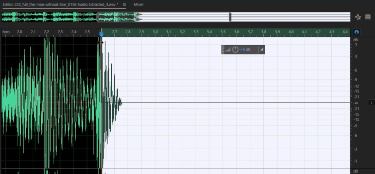 End Music Cuts with Natural Reverb — Place In and Out Points