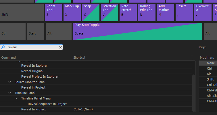 Why You Should Create These 5 Keyboard Shortcuts in Premiere Pro — Reveal in Project