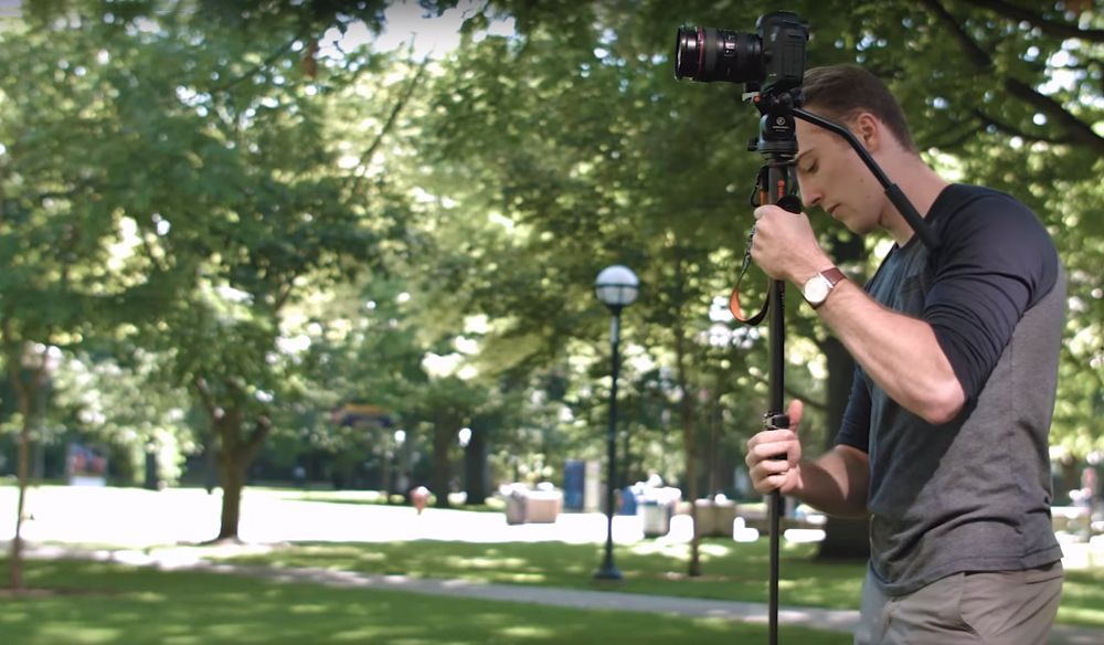 The Traveling Videographer's Guide to the Monopod