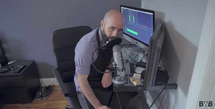 Interview: Behind the Scenes with YouTube's Binging with Babish — Editing