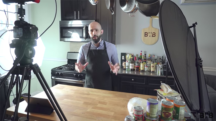 Interview: Behind the Scenes with YouTube's Binging with Babish — Behind the Scenes