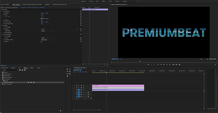 Create Transparent Titles Inspired by Dunkirk in Premiere Pro and FCPX — Getting Started