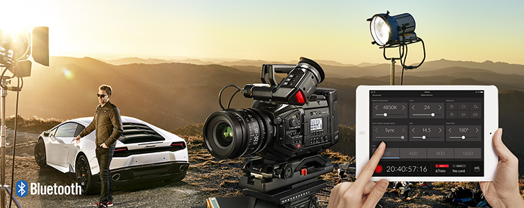 Hands-on Review: Blackmagic Ursa Mini Pro — Bluetooth Support