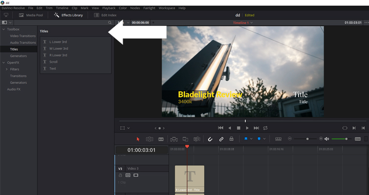 Is Resolve's Title Generator a Hit or a Miss? — Interface
