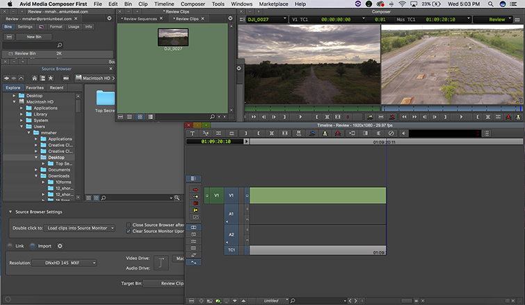 Review: Avid's Free NLE, Media Composer First — Features
