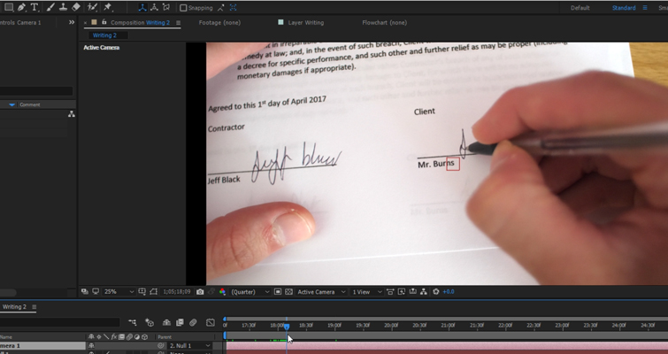 How to Create a Pen Camera in After Effects — Negative Space