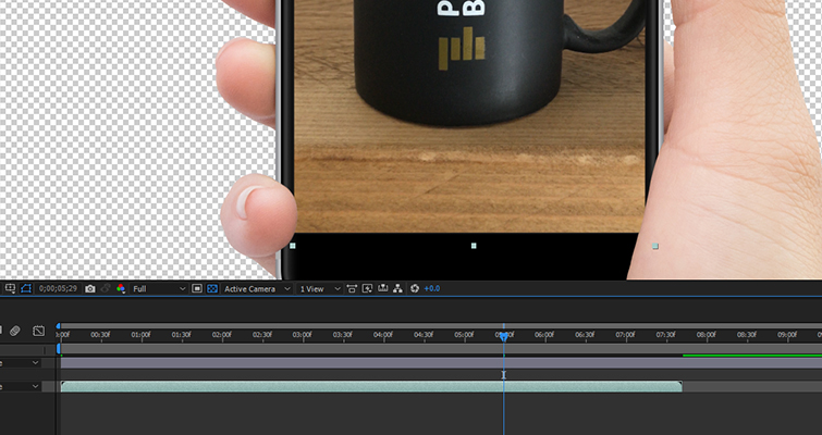 Working With Vertical Phone Footage in Post-Production — Remove Phone Screen