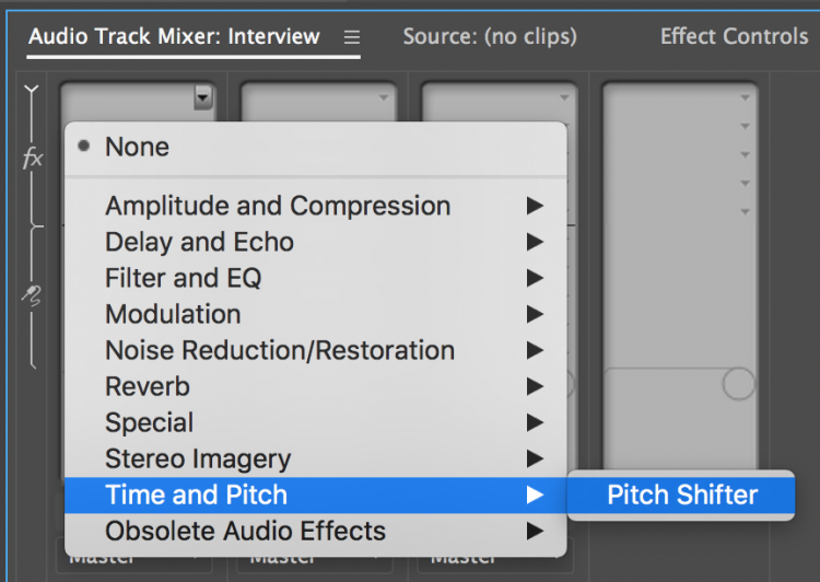 Improve Your Edits with Better Audio in Premiere Pro — Add Effects
