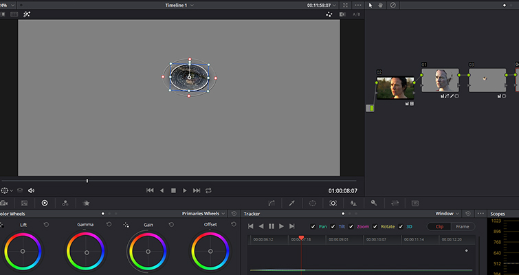 How To Make Someone Look Ill Without Makeup In DaVinci Resolve — Tracker