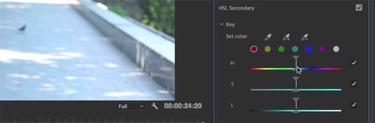 How to Change the Seasons in Premiere Pro — HSL Secondary