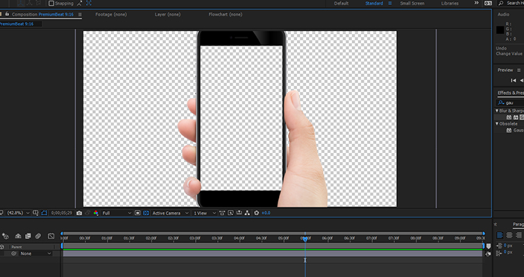 Working With Vertical Phone Footage in Post-Production — Scale Phone Layer