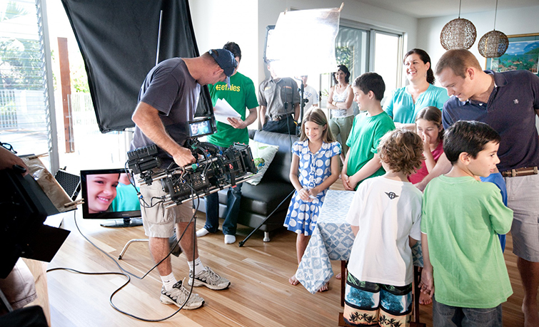 Child Actors on Set