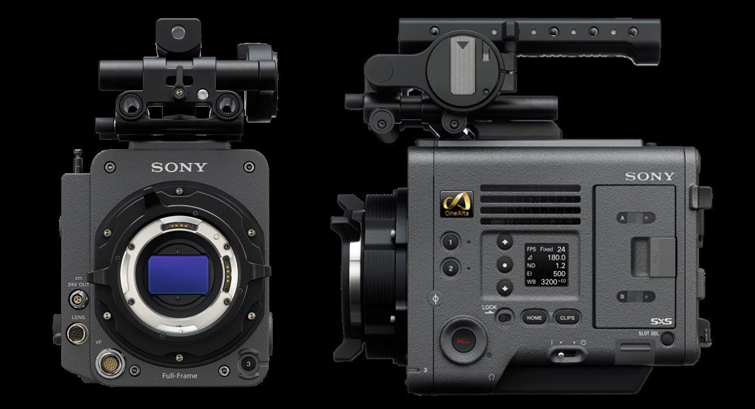 Sony Announces the New 6K CineAlta VENICE Cinema Camera - Body Side