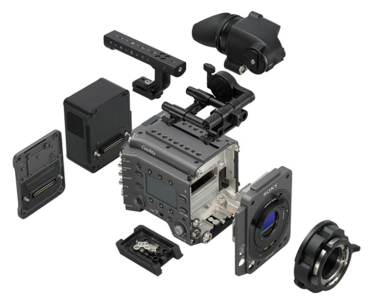 Sony Announces the New 6K CineAlta VENICE Cinema Camera - Modular
