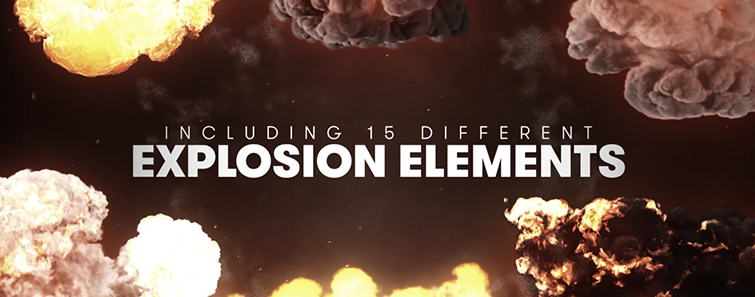 Detonate: 40 FREE Explosion SFX and VFX Elements - 15 Explosions