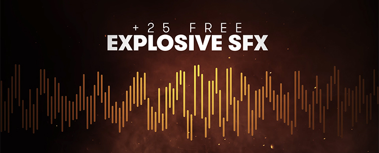 Detonate: 40 FREE Explosion SFX and VFX Elements - 25 SFX