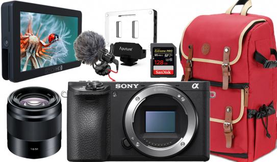 Win a Sony a6500 4K Camera Bundle from Shutterstock