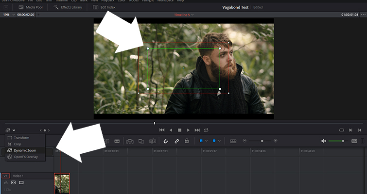 Get to Know The Dynamic Zoom Tool In Resolve 14 — Overlay