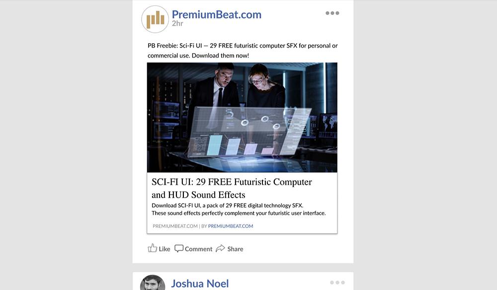 Facebook-UI